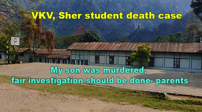 VKV, Sher student death case: My son was murdered, fair investigation should be done- parents