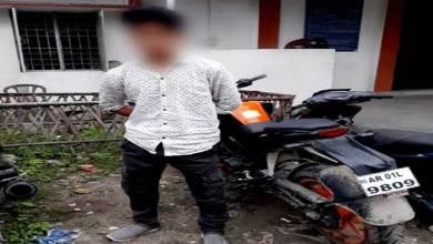 Photo of Itanagar:Police Nabbed One Habitual Bike Lifter From Assam