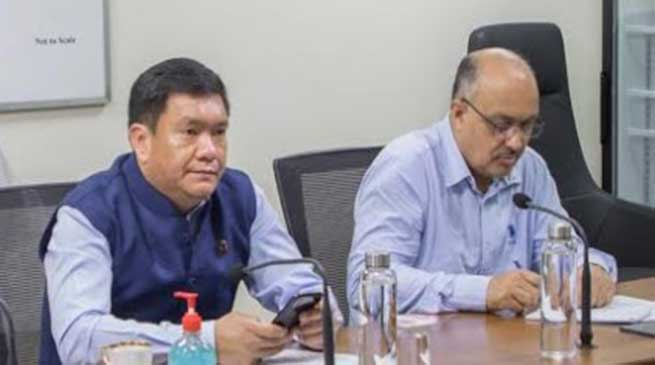 Coronavirus crisis: Arunachal CM holds video conference with DCs