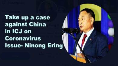 Take up a case against China in ICJ on Coronavirus Issue- Ninong Ering