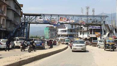 Photo of Please dismantle foot over bridges obstructing in four laning of NH-415- Locals