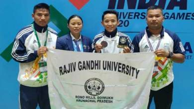Photo of Khelo India University Games: Heli Tana Tara of RGU wins Bronze medal in Boxing