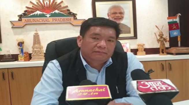 Arunachal: Khandu Urges People Returning To State To Go For Self-quarantine