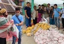Itanagar: Former IMC Councilor distributes ration kit to poor families