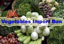 Coronavirous crisis: Import of fresh vegetables from Assam banned