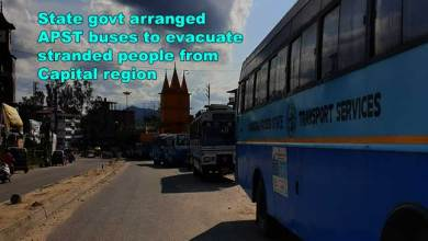 Photo of Arunachal: State govt arranged APST buses to evacuate stranded people from Capital region