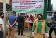 Photo of BJP Mahila Morcha begins free Mask distribution camp in twin capital city