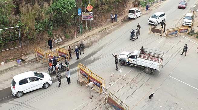 Arunachal Lockdowan: 14 person detained, 15 vehicle seized in capital complex