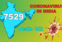Photo of Coronavirus (COVID-19) status in India: Cases rise to 7529, death 242