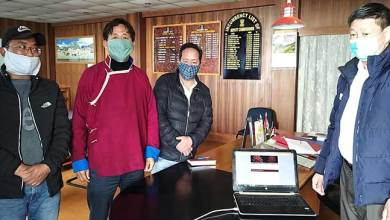 DC launches App for online registration of persons entering Tawang