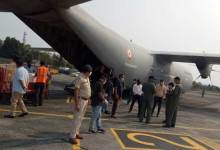 Photo of Covid-19 crisis: IAF cargo flight reached with Medical Consignment