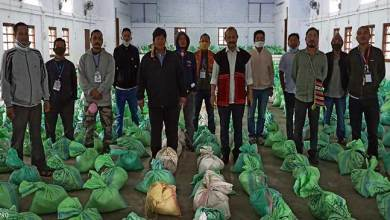 Photo of  Arunachal: Moyong distributes food items to more than 1000 families