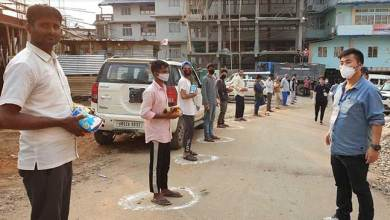 Photo of Coronavirus Crisis: Capital admin distributes ration to migrant labourers