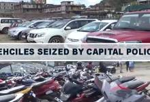 Itanagar: Capital police seized 203 two-wheelers, 82 four-wheelers