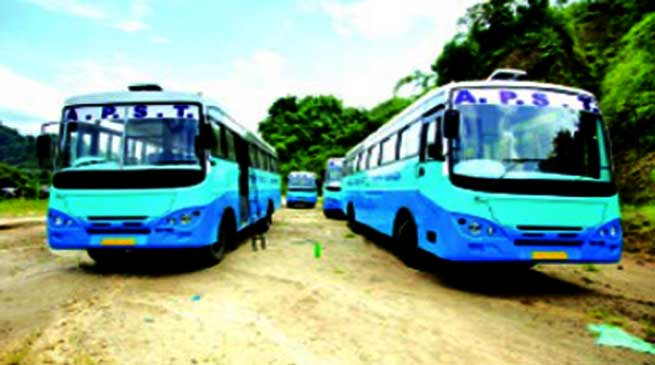 Arunachal: APSTS Buses will soon start plying, says Chief Secretary