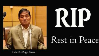 Photo of Arunachal: Pema Khandu & others condoles death ofK Migo Basar