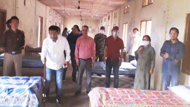 Arunachal: MLA team visits and inspects Quarantine centres in Kra Daadi