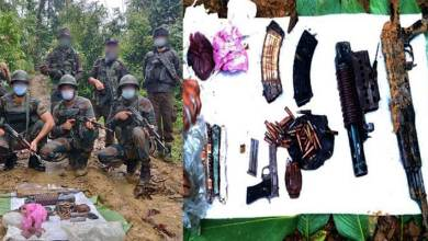 Photo of Arunachal: Army recovers arms cache in Changlang