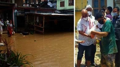 Photo of Itanagar: Chandanagar submerged in flood water, 99 families affected