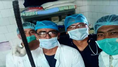 Photo of Arunachal: Army and Civil doctors removed Iron rod from man's lower abdomen