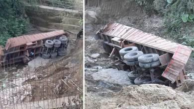 Photo of Itanagar- Driver, Handyman die as truck falls on gorge near shiv mandir