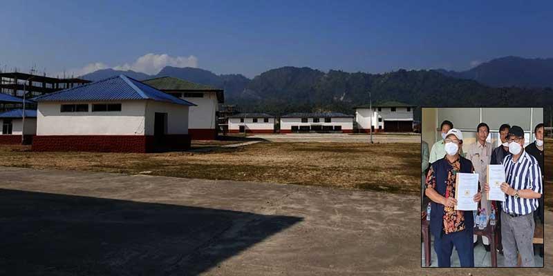 Arunachal: Inter State Truck Terminal (ISTT) handed over to Transport department