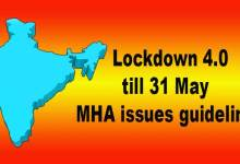 Photo of Lockdown 4.0 till 31 May: MHA issues guidelines