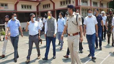 Photo of Arunachal: high level delegation visited Bhalukpong checkgate and quarantine centres
