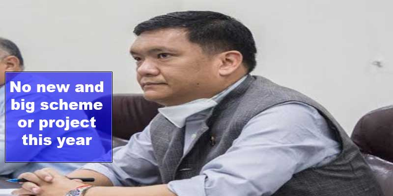 Arunachal:No new and big scheme or project this year- Pema Khandu