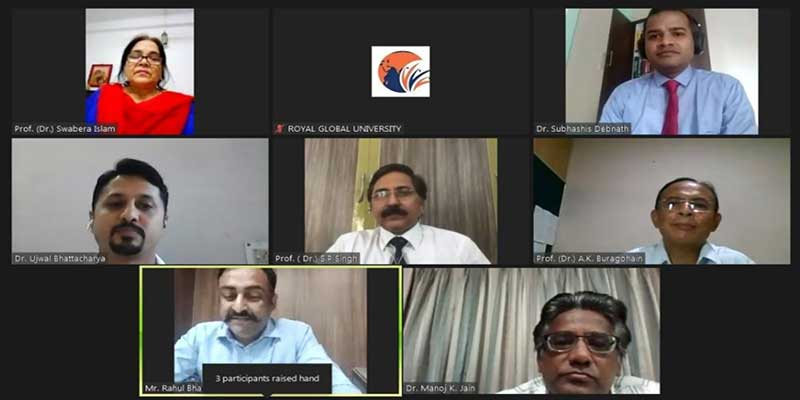 Assam: RGU organised Webinar on Restructuring Education sector for stronger Industrial Interface