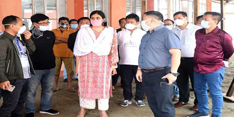 Arunachal: Sonal Swaroop inspects State Quarantine Centre at Lekhi