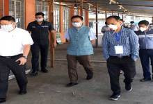 Photo of Arunachal: State Quarantine Center Lekhi starts functioning, Taba Tedir visits the centre