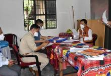 Photo of Arunachal:  Tana Hali Tara visited PTC quarantine centre, motivated the frontline workers.