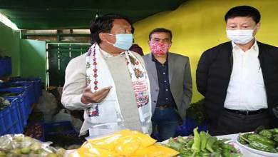 Photo of Arunachal: Tawang MLA Tsering Tashi inaugurates sales counter of Agriculture produce