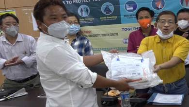 Photo of Arunachal-AAF lauds COVID workers, donates PPE kits