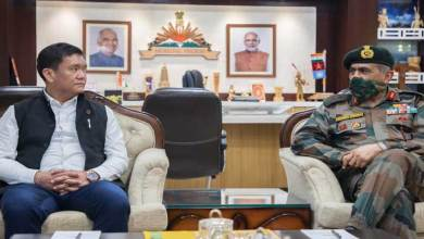 Photo of Arunachal: DG of Assam Rifles calls on the Governor, CM