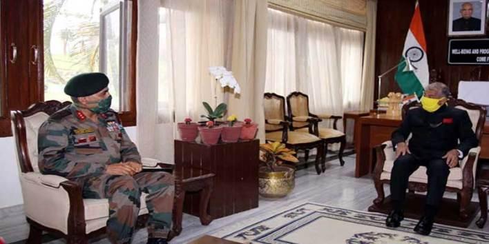 Arunachal: DG of Assam Rifles calls on the Governor, CM