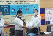 Photo of Arunachal: FFA lauded the frontline workers, donated 30 PPE to health deptt.