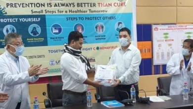 Arunachal: FFA lauded the frontline workers, donated 30 PPE to health deptt.