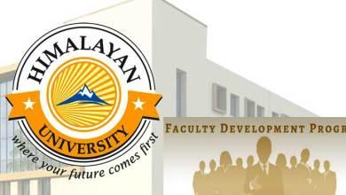 Photo of Arunachal: Himalayan University Online FDP Inaugurated