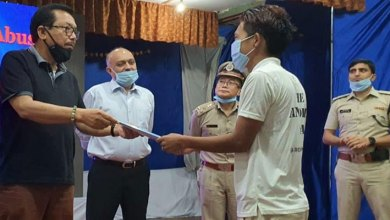 """Photo of Arunachal: Chown Mein attends """"MILAAP- A day with Roing Police"""""""
