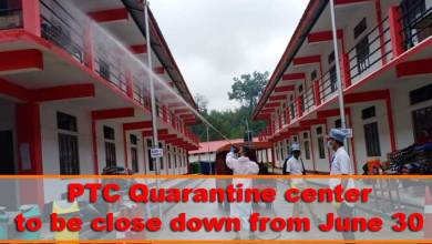Photo of Itanagar: PTC Quarantine center to be close down from June 30