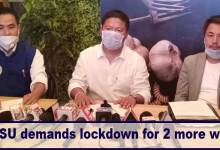 Arunachal fight coronavirus: AAPSU demands lockdown for 2 more weeks