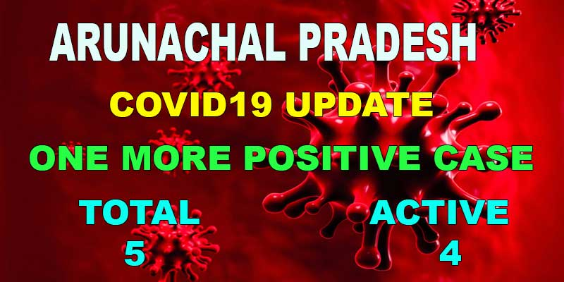 Arunachal Pradesh reports its fifth COVID-19 case