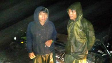 Photo of Arunachal: Upper Siang police rescues two person from river