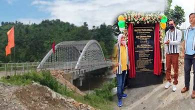 Photo of Arunachal: Chowna Mein inaugurates Arch bridge over River Poma at Jollang