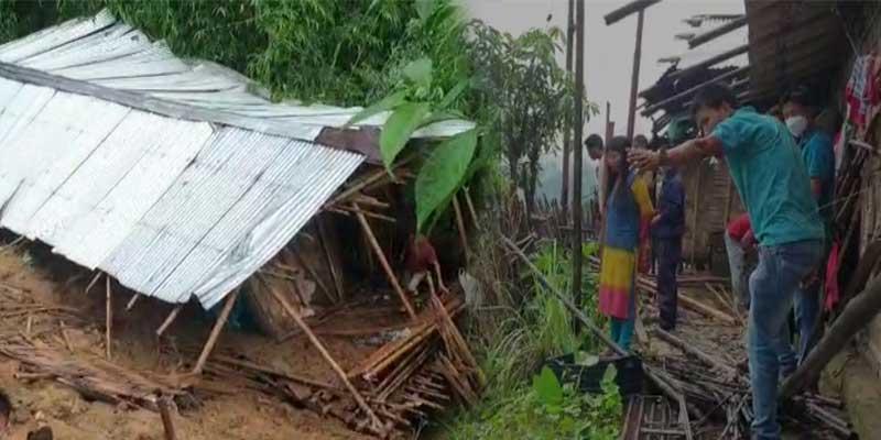Itanagar- 2-year-old girl dies due to landslide, CM expresses shock