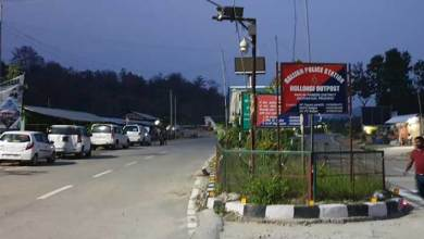 Itanagar- Girl reached Itanagar in a vegetable delivery vehicle despite tight security at hollongi checkgate