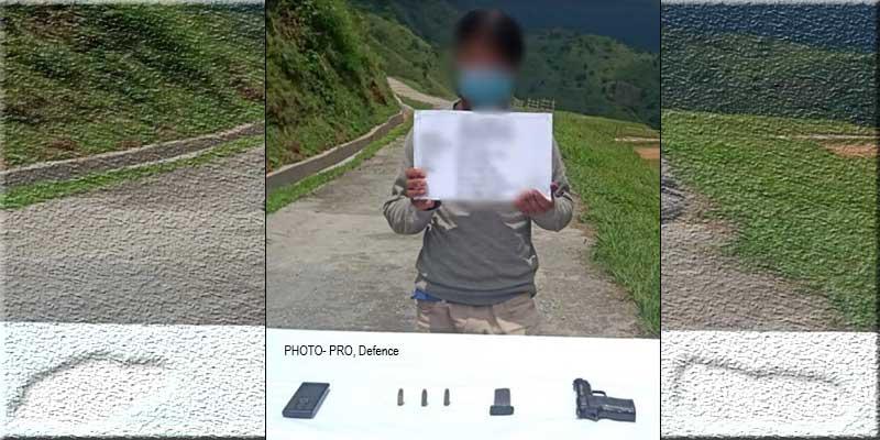 Arunachal: Assam Rifle apprehends NSCN(IM) cadre in Tirap
