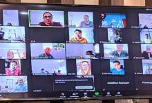 Itanagar- Online meeting to review works done for Women and Child Development